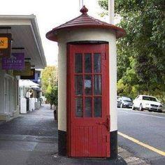 phone booth old SA