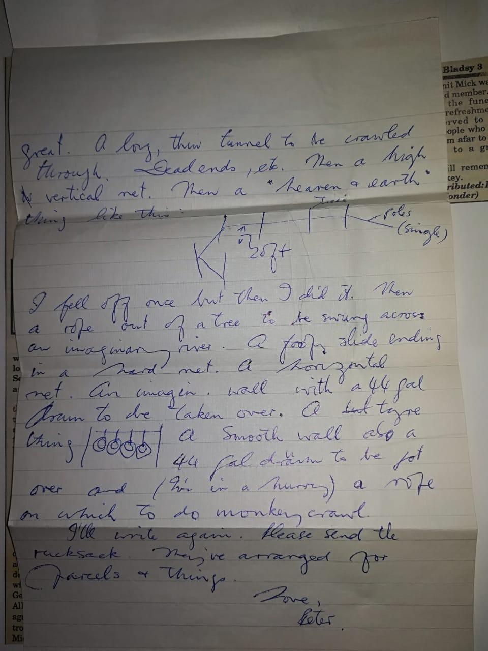 Veld Vlei letter 1972_2