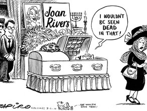 Joan Rivers Zapiro