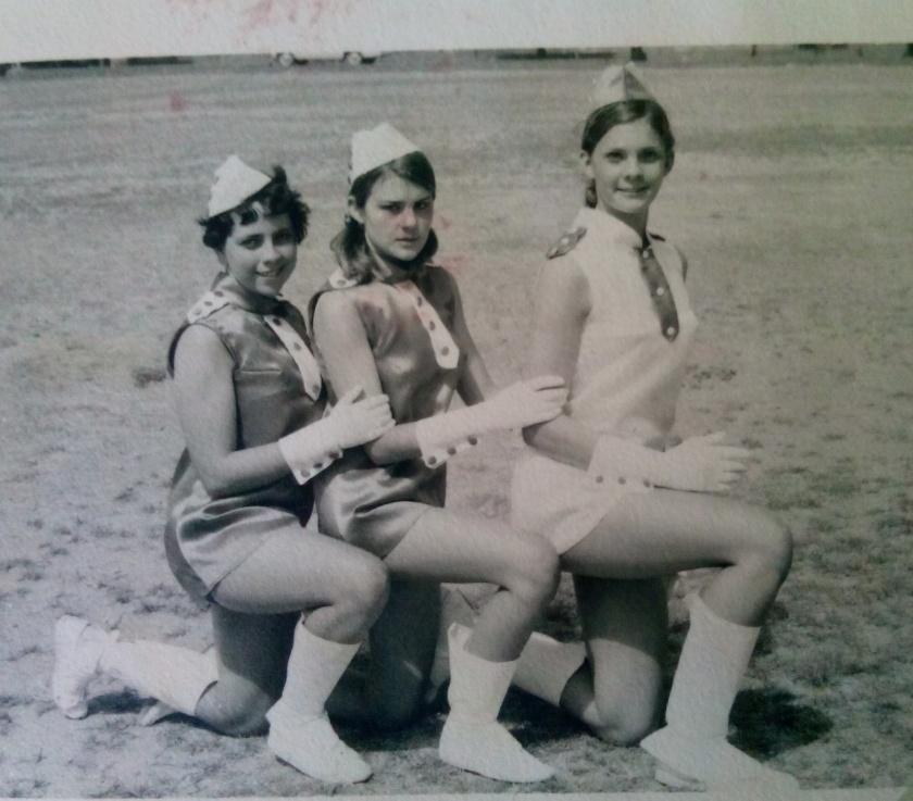 Drum Majorettes 1969.JPG