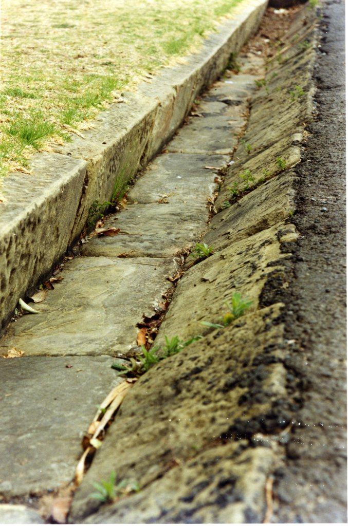 Harrismith sandstone gutter