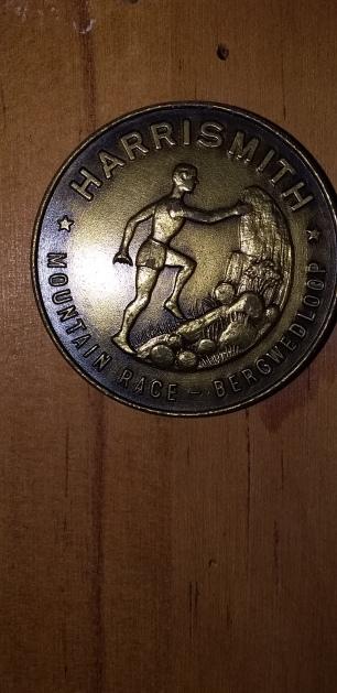 HS Mtn Race medal