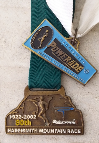 HS Mtn Race medals