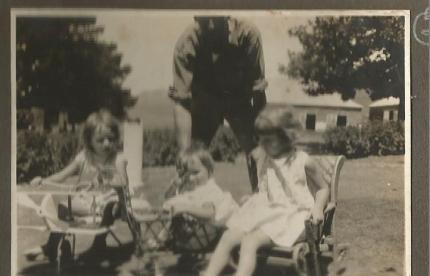 1930 Janet, Pat, Frank & Mary