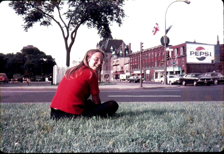Dottie in Montreal (I think - Ottawa?)