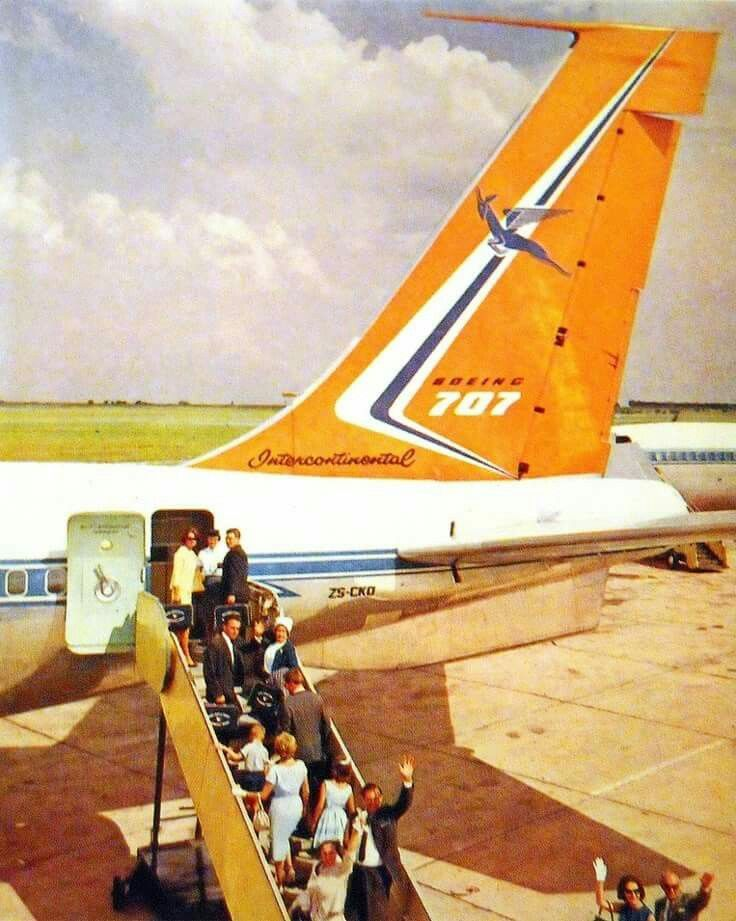 Flying in 1973