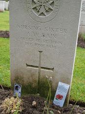 Annie Watson Bain grave
