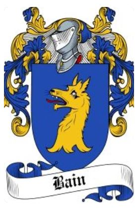 Bain coat of arms