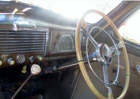 Buick coupe 1938 interior