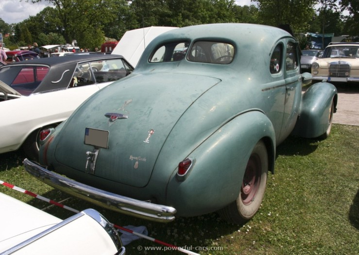 Buick sports coupe 66s 1938