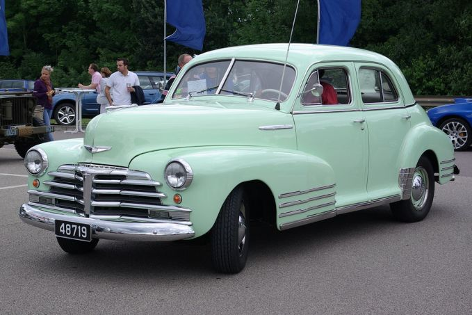 Chev Fleetline 1948