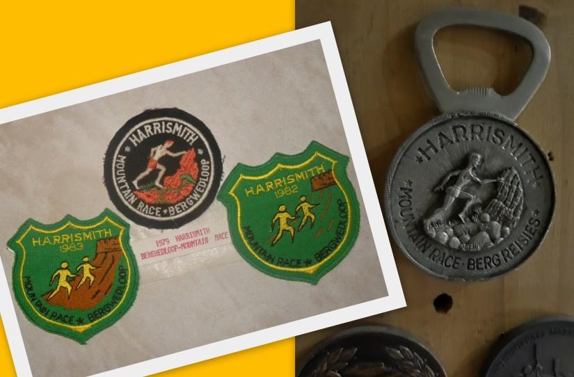 HS Mtn Race badges, medal