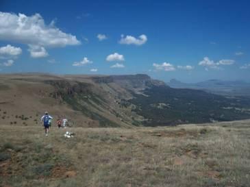 Top of ZigZag Pass