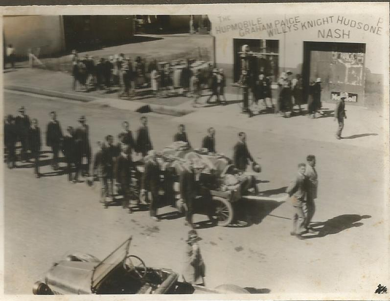 1939 Sept. Funeral of Stewart Bain Harrismith