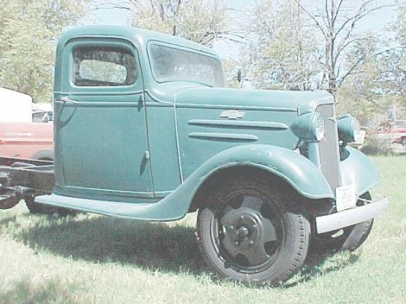 Chev Truck Crawley 1936