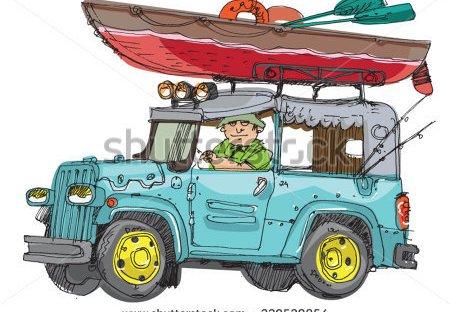 kayak roofrack canoe