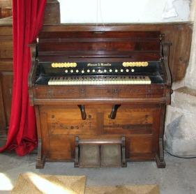 church organ pedals