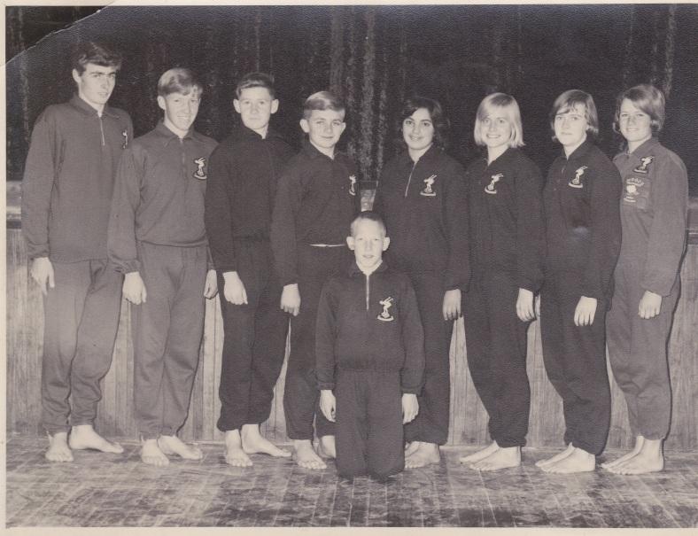 SWIMMING TEAM 1965.JPG