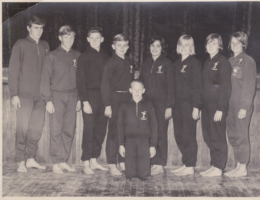 SWIMMING TEAM 1965.JPG