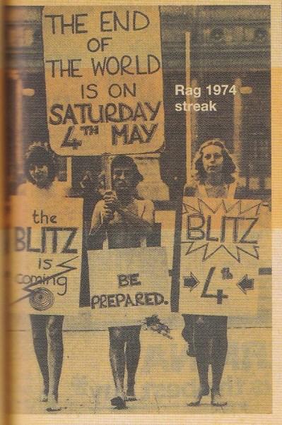 Wits Rag 1974 streak