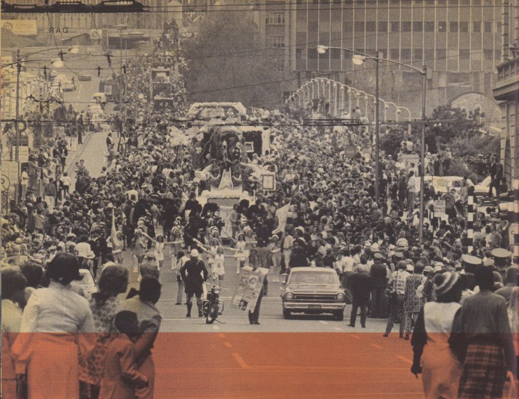Wits Rag_Float parade