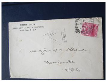 JFA Bland envelope full