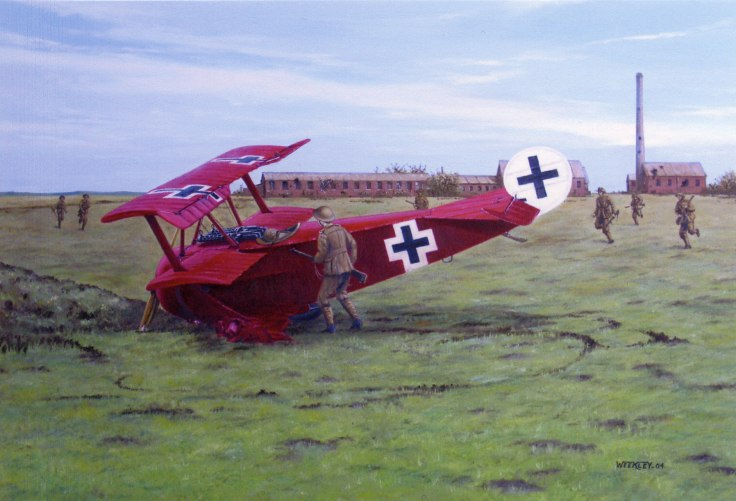 Red Baron crash
