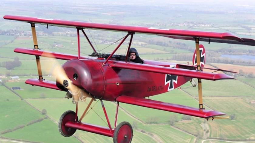 Red Baron fly