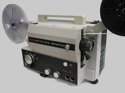Super 8 Sound Projector Eumig Mark S810