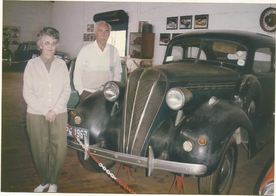 1936 Hudson Terraplane in museum