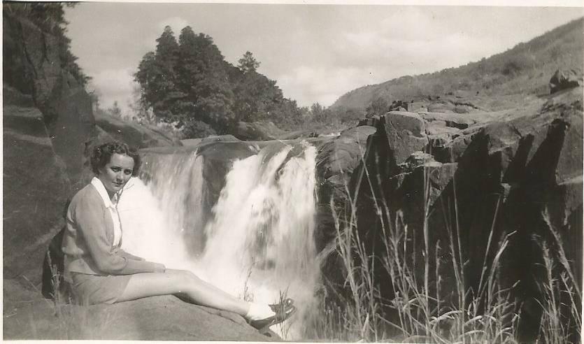 Montrose Falls, Lowveld, Crocodile river