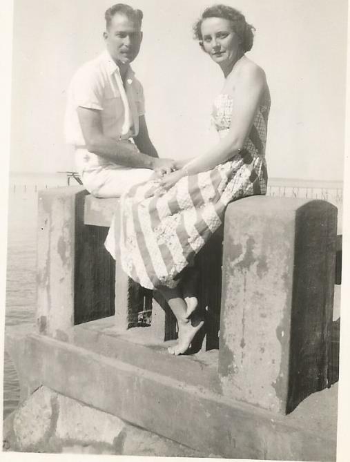 LM Mocambique dockside honeymoon 1951