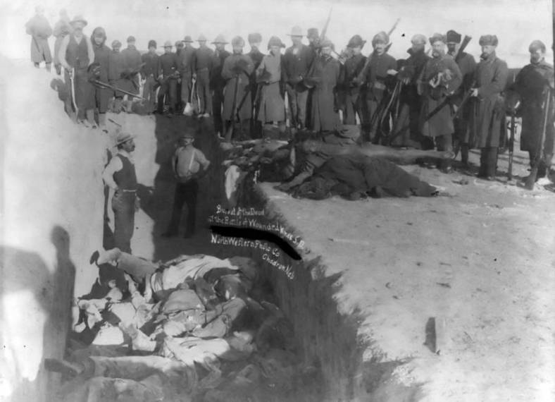 Wounded Knee grave