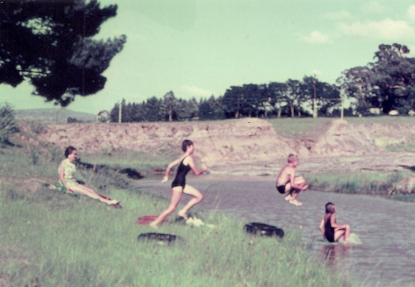 Sunnymede on the Wilge River upstream from Harrismith FS ca1965