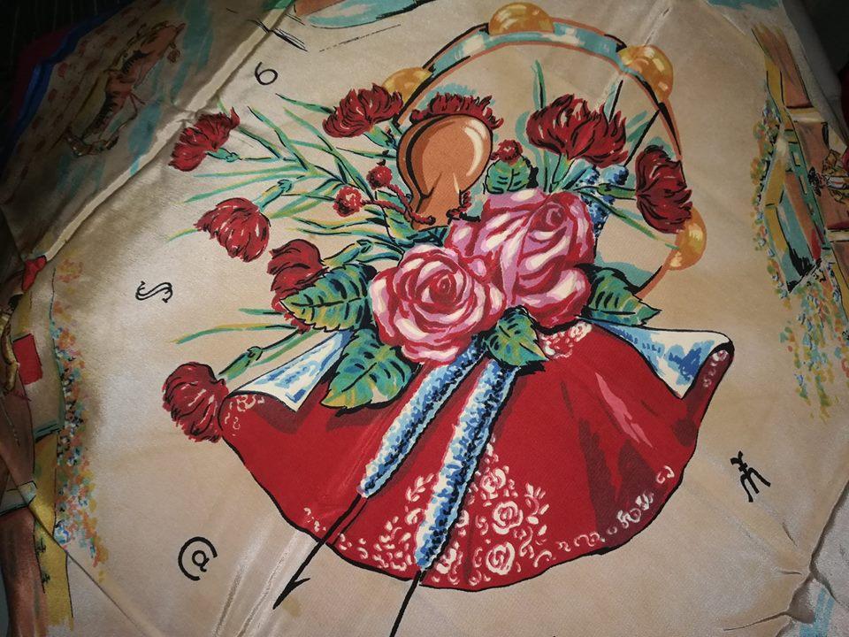 Honeymoon bullfight cloth Lourenco Marques 2